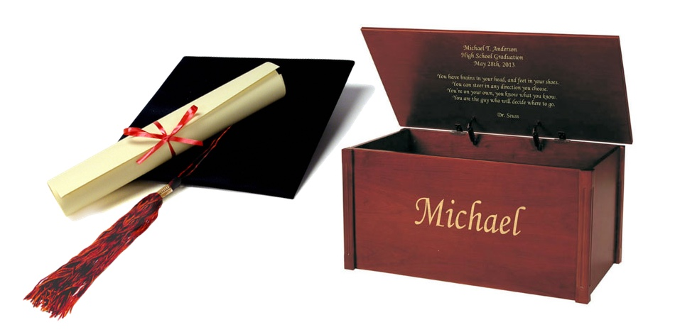 Graduation Gift Idea: Personalize a Memory Chest