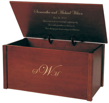 4 Ways Monogrammed Wedding Chests Make The Perfect Gift
